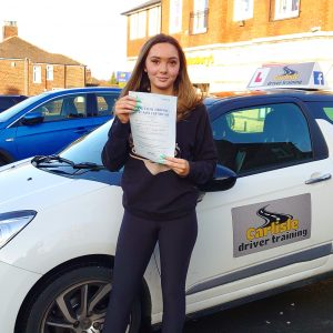 Innes Brown Passed Her Driving Test
