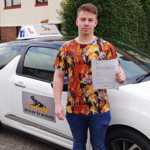 Tyrone Blakey Passed Driving Test With Only One Minor Fault