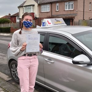 Alys Webster Passed Her Driving Test